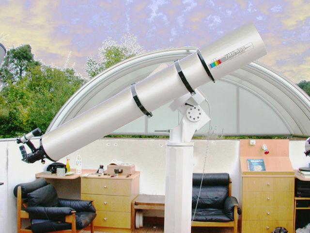 Bild von APM - LZOS Apo Refraktor 254/2250 CNC LW II