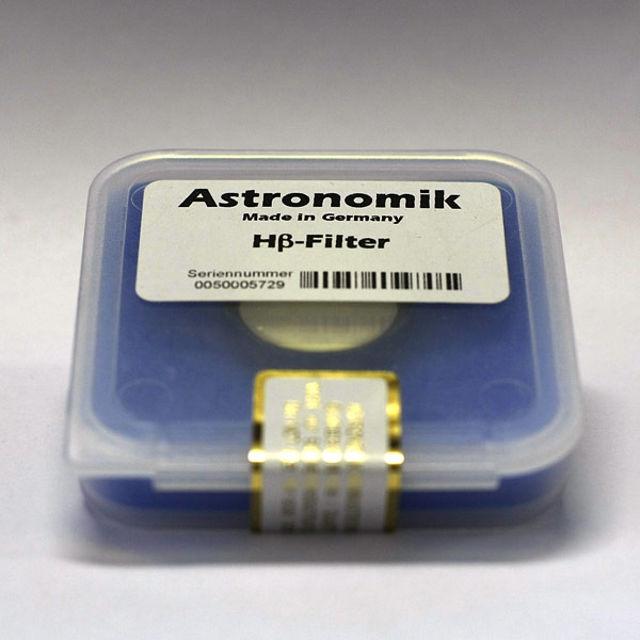 Picture of Astronomik - H-Beta filter  1,25''