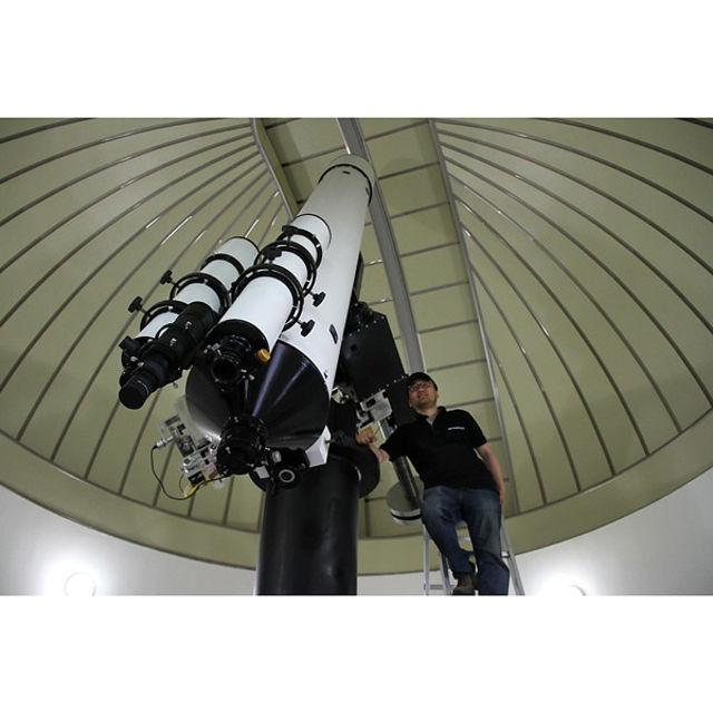 Picture of APM - ARIES & LZOS Telescope Apo Refractor 356/4270 CNC LW II