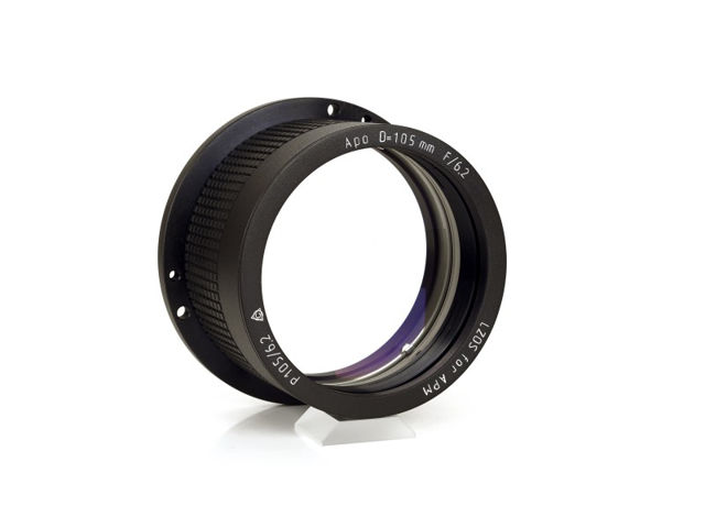 Picture of APM - LZOS Apo-Refraktoren - 105 f/6.2 Apochromat, Lens in Cell