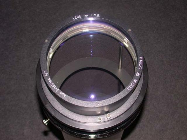 Picture of APM - LZOS Apo-Refraktoren - 180 f/7 Apochromat, Lens in Cell