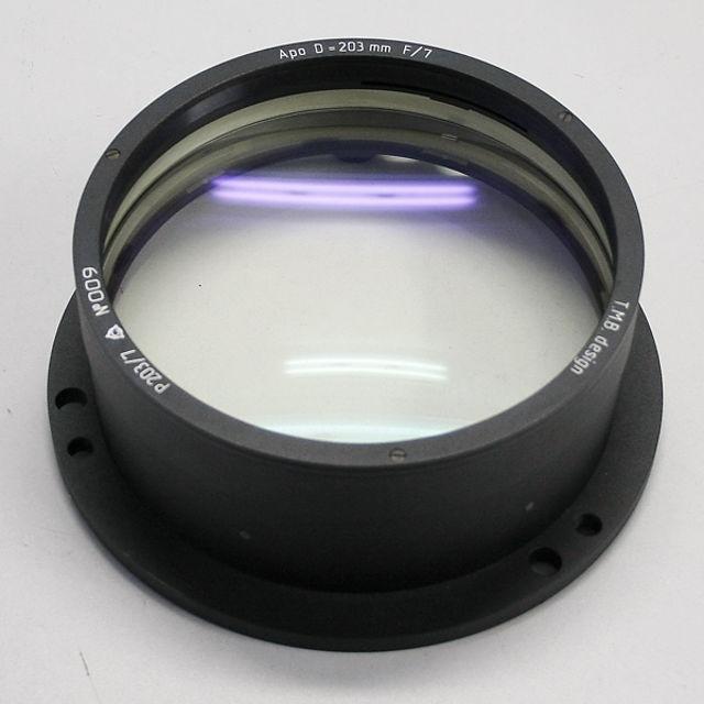 Picture of APM - LZOS Apo-Refraktoren - 203 f/7  Apochromat, Lens in Cell