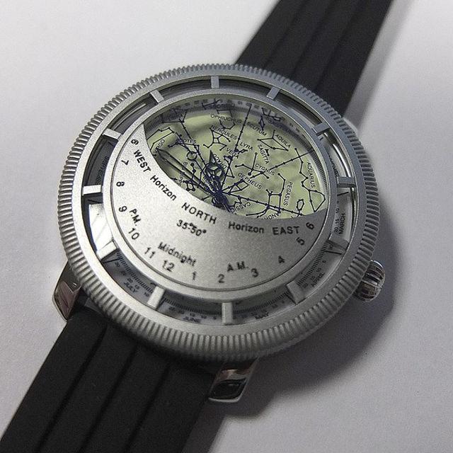 Bild von WatchDesign - Planisphären Uhr
