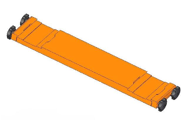 Bild von Geoptik - Doppelbefestigung - 3'' Klemmung - Breite 45cm