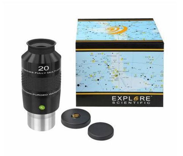 Bild von Explore Scientific 20mm 100° Großfeldokular