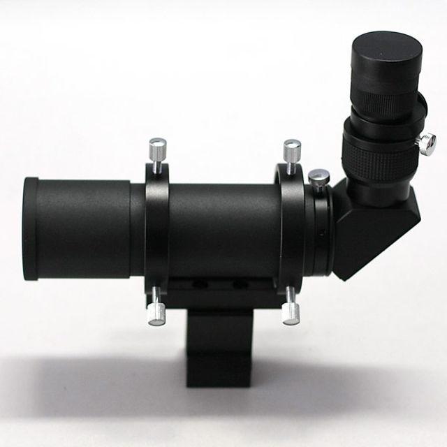 Bild von APM Sucher 50mm 90° seitenrichtig + 24mm Fadenkreuzokular