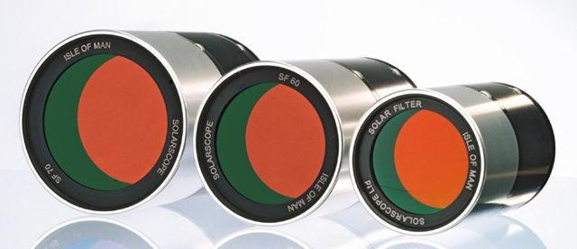 Bild von Solarscope / UK - 50 mm 0.5 A Sonnen H-alpha Doppel-Filter Set