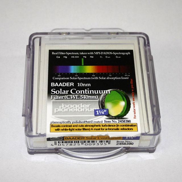 """Bild von Baader - Solar Continuum Kontrast Filter Sonnenbeobachtung 1 1/4"""""""