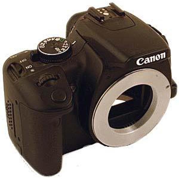 Bild von TS ultrakurzer Adapter von T2 auf Canon EOS Bajonett