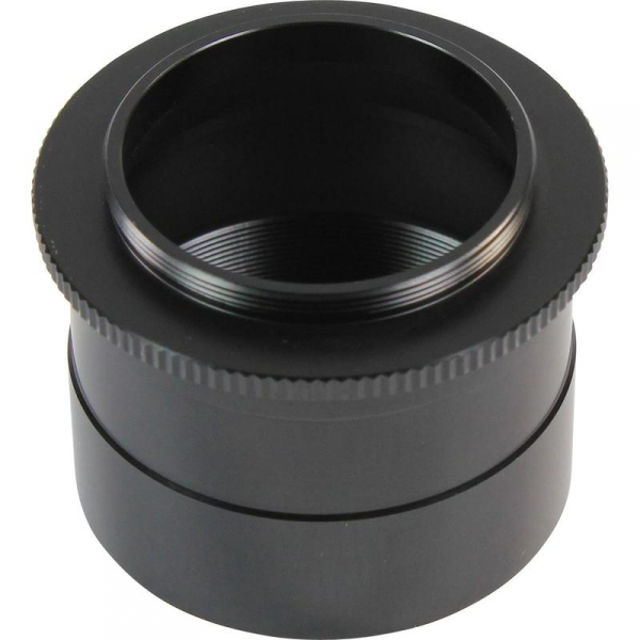 Picture of Omegon Adapter of 2' on T2, optical path only 3 mm