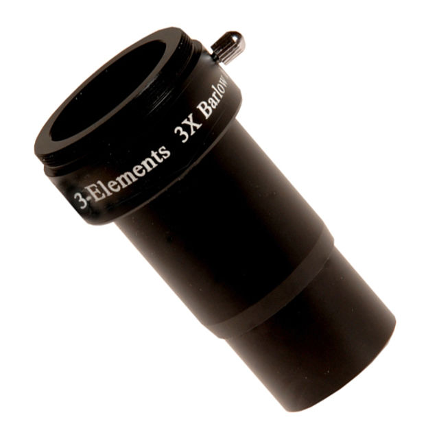 """Picture of Skywatcher 3x Barlow Lens 1.25"""" with  3 lens elements"""