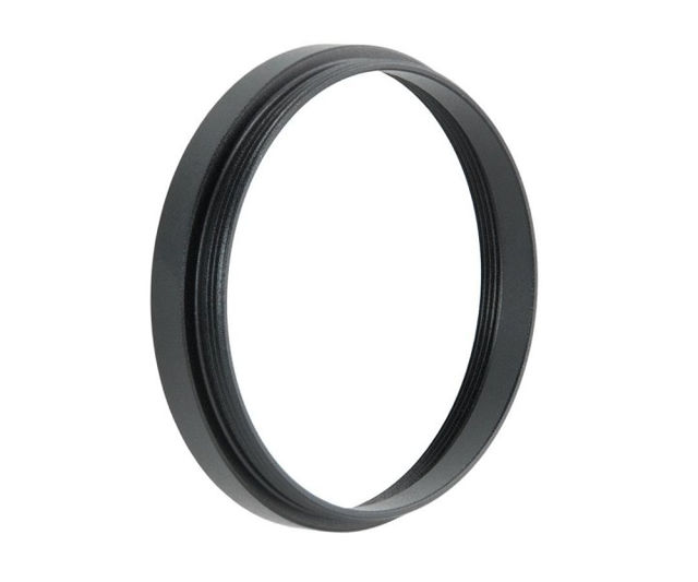 """Picture of TS Optics 5mm extension with M48 - 2"""" filter thread and 2"""" diameter"""