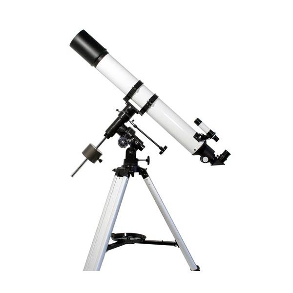 Bild von TS Starscope 80/900mm Refraktor Teleskop auf EQ3-1 mit Stativ