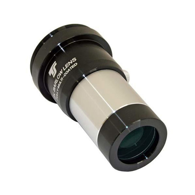 """Picture of TS OpticsTSB21T2  2x Barlow 1.25"""" with integrated T-thread and Photo Adapter"""
