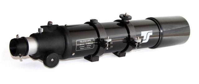 Bild von TS Starscope-806 OTA - Großfeldrefraktor 80/600 mm - optischer Tubus