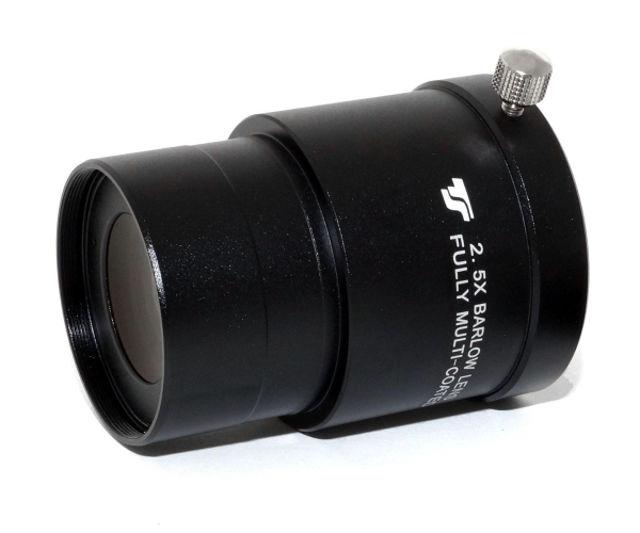 """Bild von TS Optics 2""""-Barlow - 2,5x apochromatisches 4-linsiges Design - kurzbauend"""