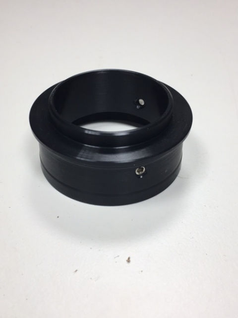 """Picture of Telescope eyepiece adapter 2"""" with 48 mm filter thread for old leica Zoom 7-22 mm"""