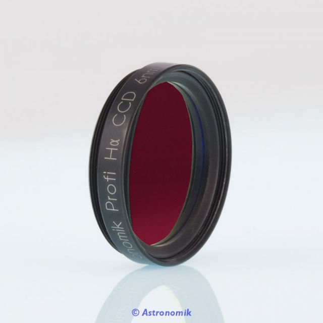 Picture of Astronomik ASHA6nm1 -  H-Alpha CCD Filter, 12 nm, 2 inch mounted