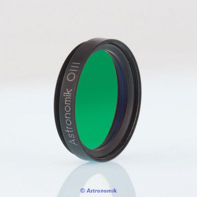 """Bild von Astronomik  OIII-CCD-Filter, 12 nm, Anschluss 1,25"""""""