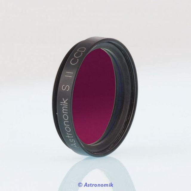 """Bild von Astronomik  SII-CCD-Filter, 12 nm, Anschluss 1,25 """""""