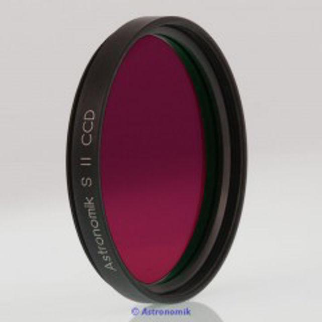 """Bild von Astronomik  SII-CCD-Filter, 6 nm, Anschluss 2 """""""
