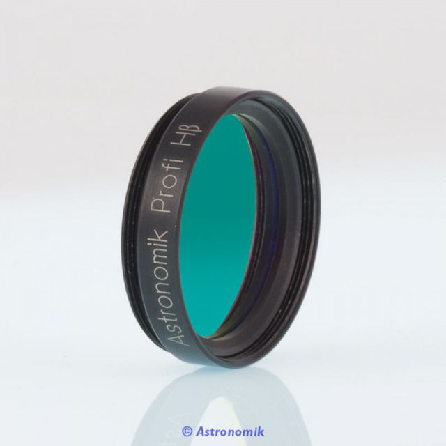 """Picture of Astronomik HBeta-CCD Filter, 12nm, 1,25"""" mounted"""