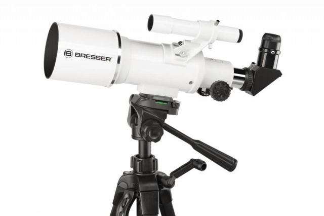 Picture of Bresser Classic 70/350 refractor telescope with field-tripod
