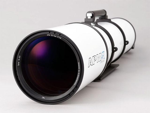"""Picture of APM Refractor Telescope Doublet ED Apo 152 f/7.9 OTA with 3.7"""" focuser"""