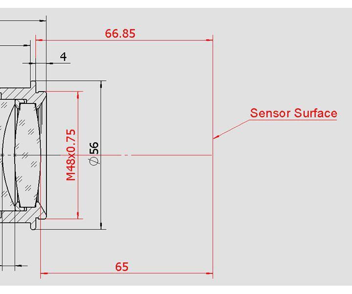 """Bild von TS Optics 2""""-Newton-Koma-Korrektor und 0.73x-Reducer für Astrofotografie"""