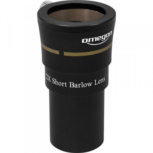 Picture of Omegon 1.25'', 2X, 3 Element Barlow eyepiece