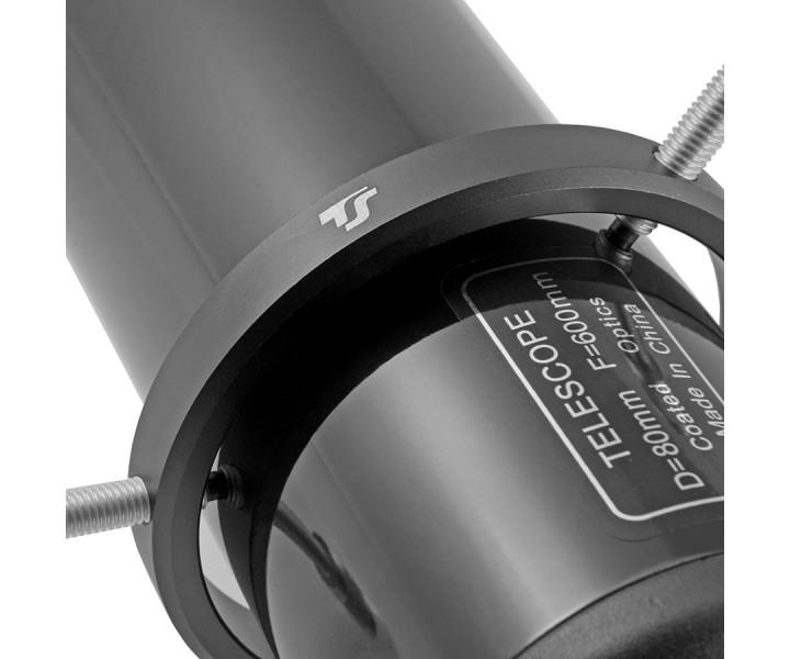 Bild von TS-Optics Leitrohr - Guiding Scope 80/600 mm mit justierbaren Schellen
