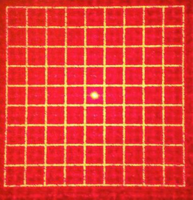 Bild von Holographisches Gitter (quadratisch)
