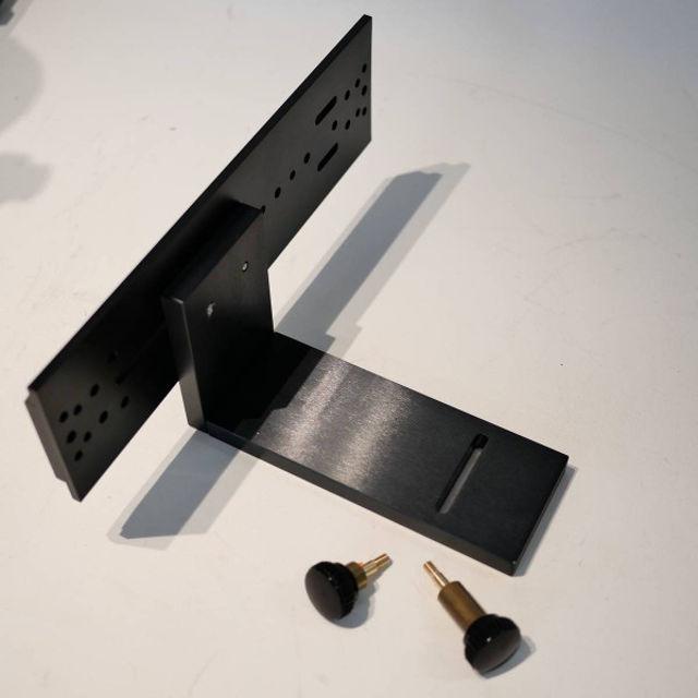 Bild von APM L-Halter/90°- Winkelhalter mit 3 Zoll Schiene