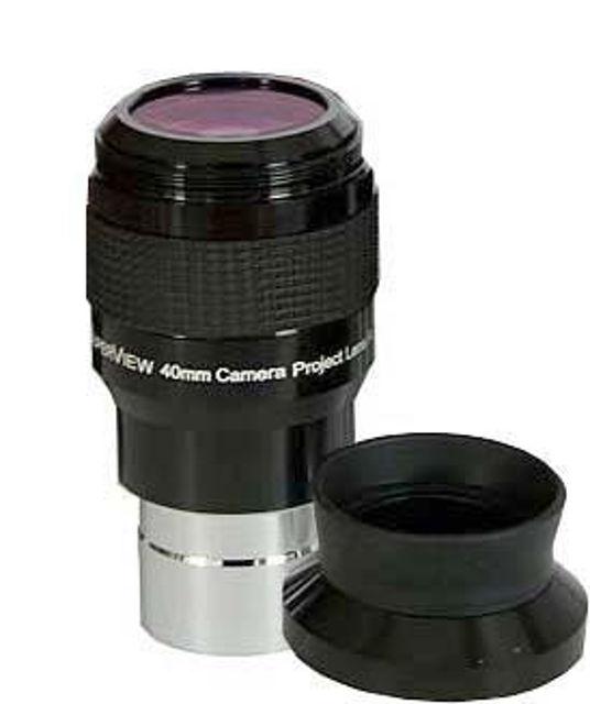 """Bild von TS-Optics SuperView 40mm-1,25""""-Okular mit integriertem T2 Gewinde"""