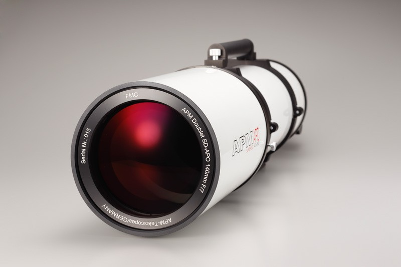 Picture of APM Doublet SD Apo 140 f/7 FPL53 Optical Tube