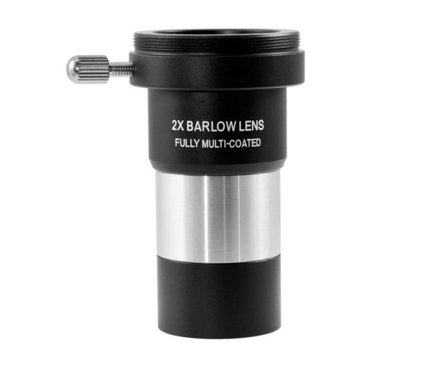 """Picture of TS-Optics 2x Barlow Lens achromatic 1.25"""" with T2 Photo Connector"""