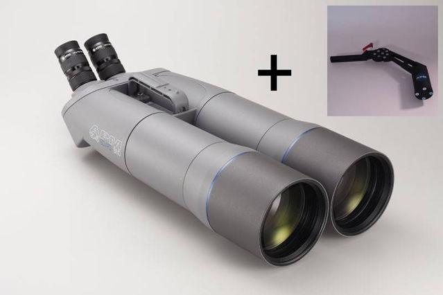 Bild von APM 120mm 45° SD-APO Fernglas mit UF18mm & 1-Arm-Montierung