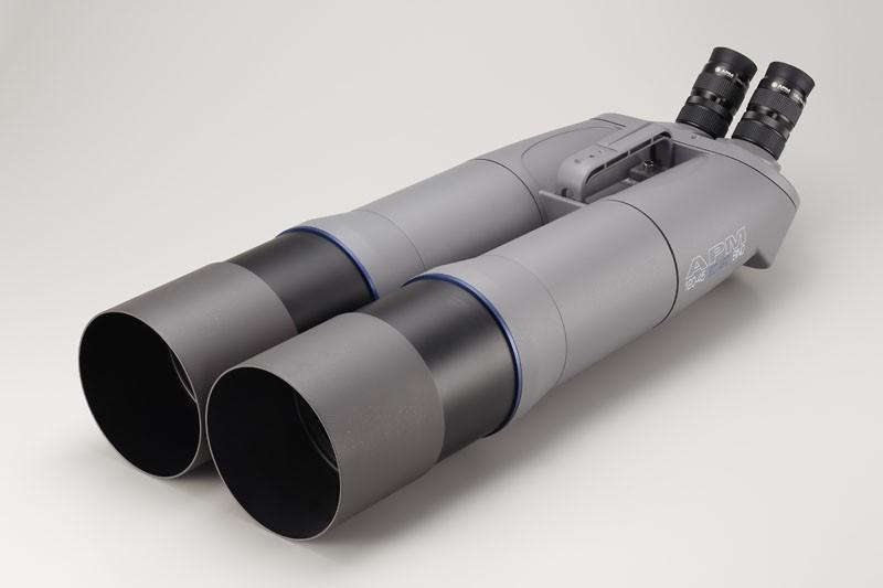 Bild von APM 120mm 45° SD-APO Fernglas mit UF18mm & Gabelmontierung