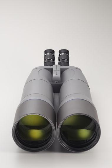 Bild von APM 120mm 45° SD-APO Fernglas mit UF18mm, Gabelmontierung & Stativ