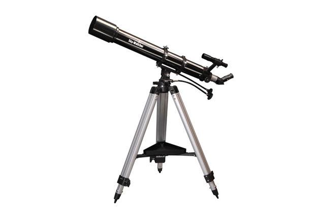 Bild von Skywatcher Evostar 90mm-f/10-Refraktor auf azimutaler AZ3