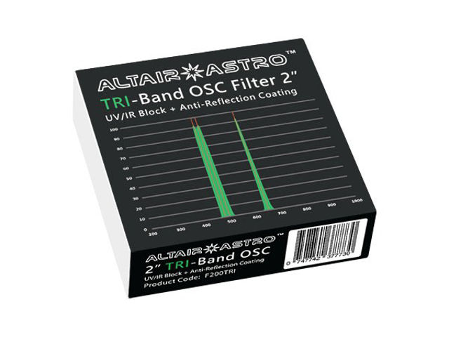 """Picture of Altair SkyTech TriBand OSC CCD 2"""" Filter"""