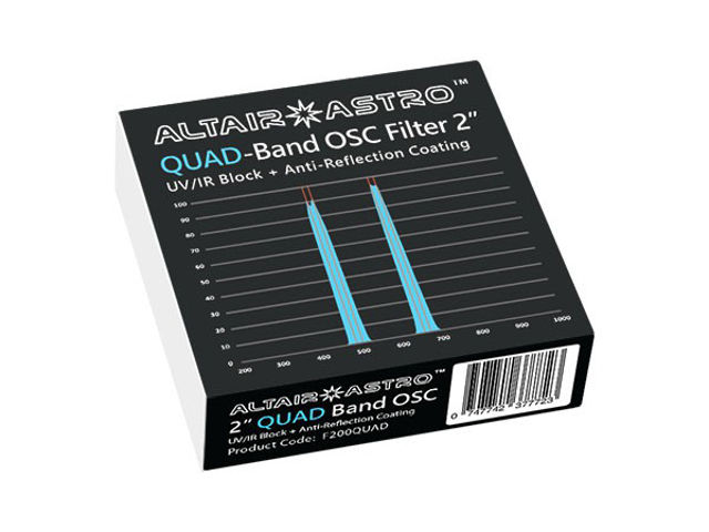 """Picture of Altair QuadBand OSC CCD 2"""" Filter"""