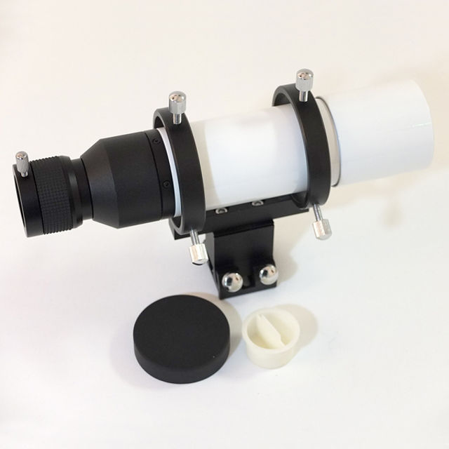 Picture of APM finder 50mm straight thru in white color