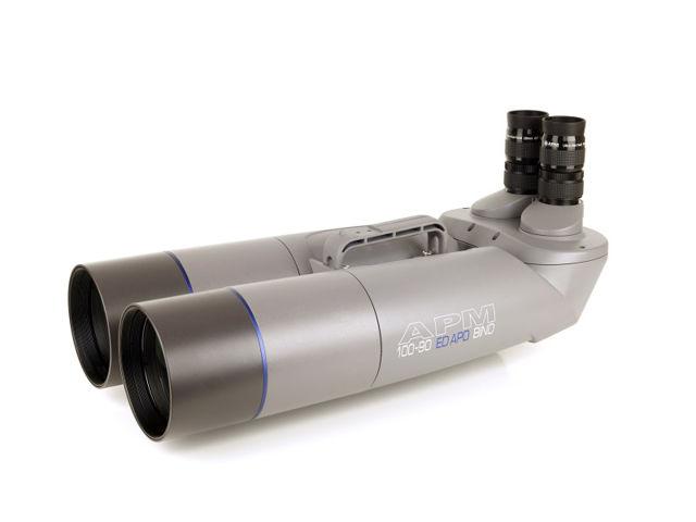 Bild von APM 100mm 90° ED-APO Fernglas mit UF18mm