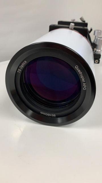 Bild von TS-Optics 86SDQ 86mm F5.4 Quadruplet 4-Element Flatfield APO