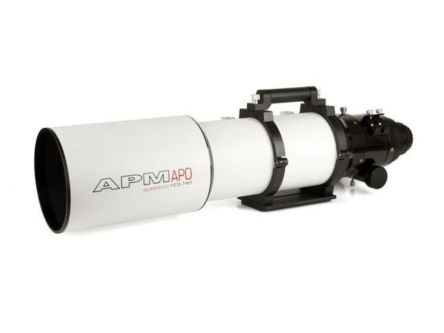 Bild von APM - LZOS Apo Refraktor 123/738 CNC LW II