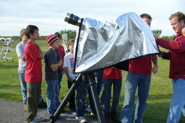 Picture of Solar Observing hood