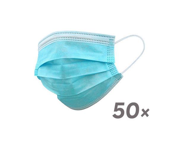 Bild von MNS-Maske (Mund-Nase-Schutz) - 3 lagig - 50 Stk. (= 1 Mengeneinheit)