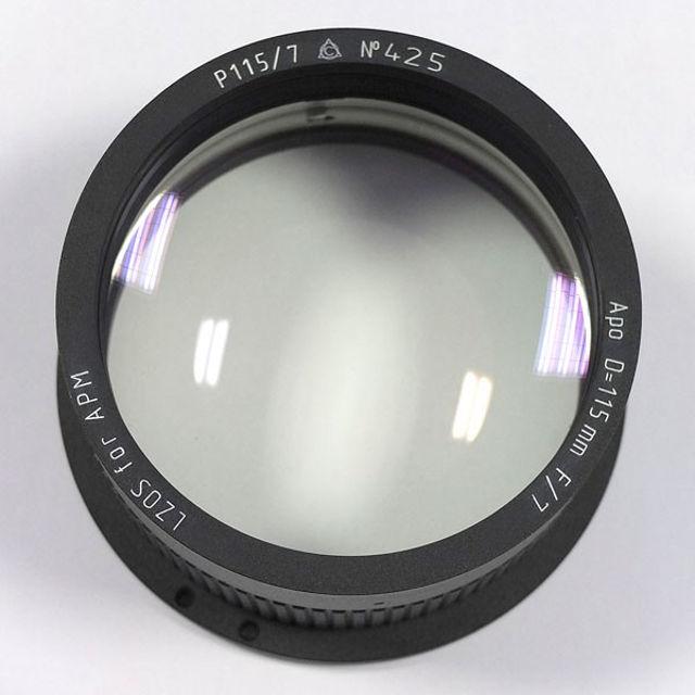 Picture of APM - LZOS Apo-Refraktoren - 115 f/7 Apochromat, Lens in Cell