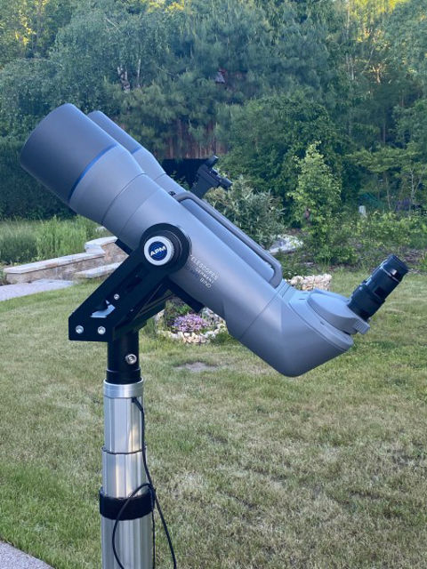 Bild von APM 150mm 90° SD-APO Fernglas mit UF30mm & Koffer